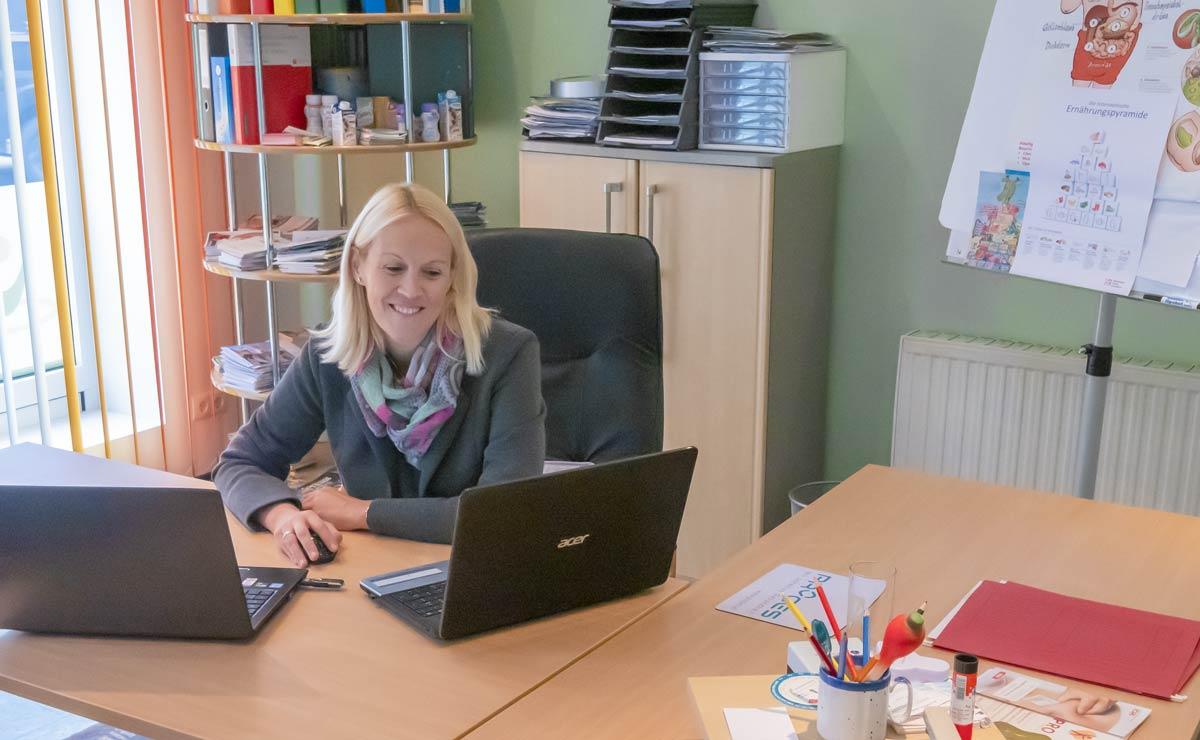 Birgit Brunner, Burgenland: Ernährungsberatung